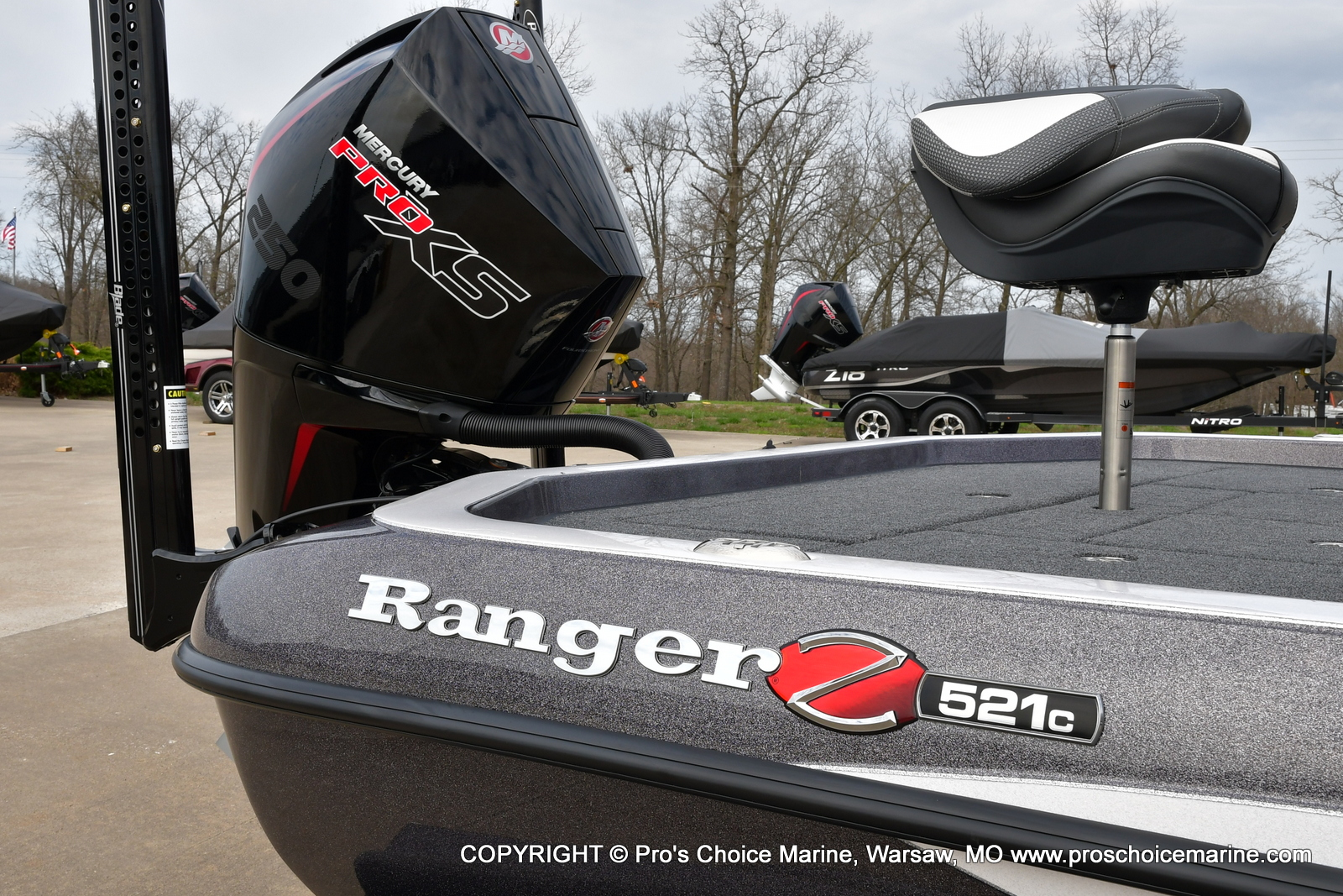 2021 Ranger Boats boat for sale, model of the boat is Z521C Ranger Cup Equipped & Image # 38 of 50