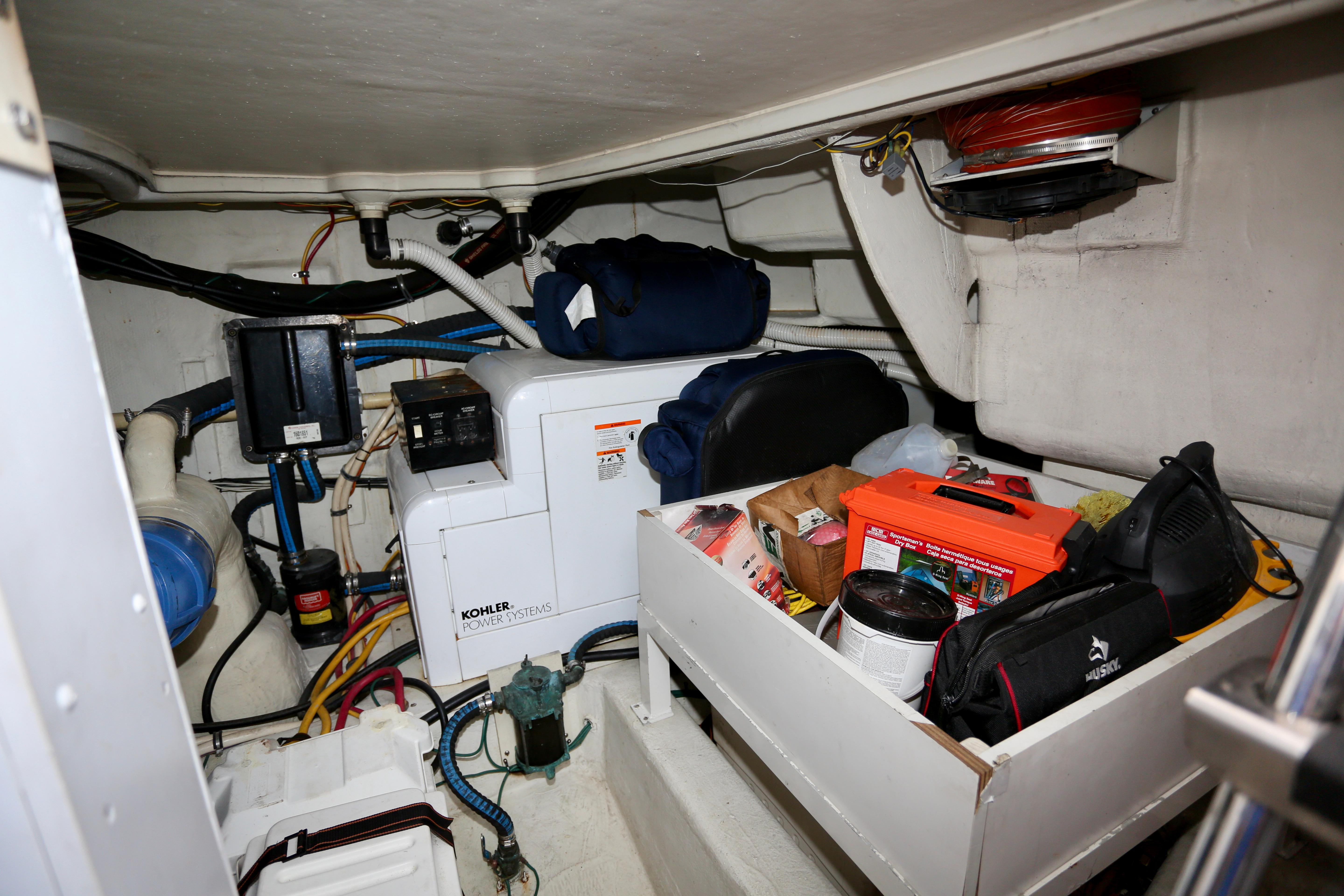 Engine Compartment Storage and Genset