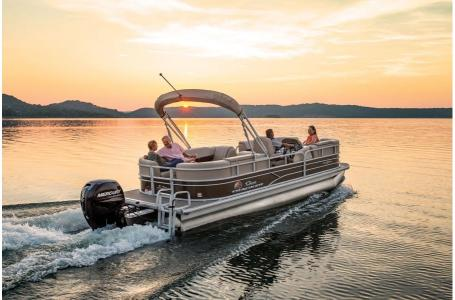 2019 Sun Tracker boat for sale, model of the boat is PARTY BARGE 22 w/ Mercury 115 ELPT 4S & Image # 23 of 26