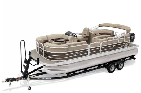 2019 Sun Tracker boat for sale, model of the boat is PARTY BARGE 22 w/ Mercury 115 ELPT 4S & Image # 4 of 26