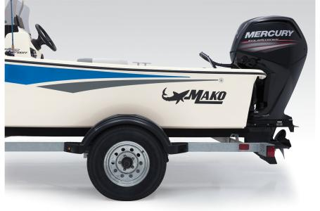 2021 Mako boat for sale, model of the boat is Pro Skiff 17 CC & Image # 24 of 33