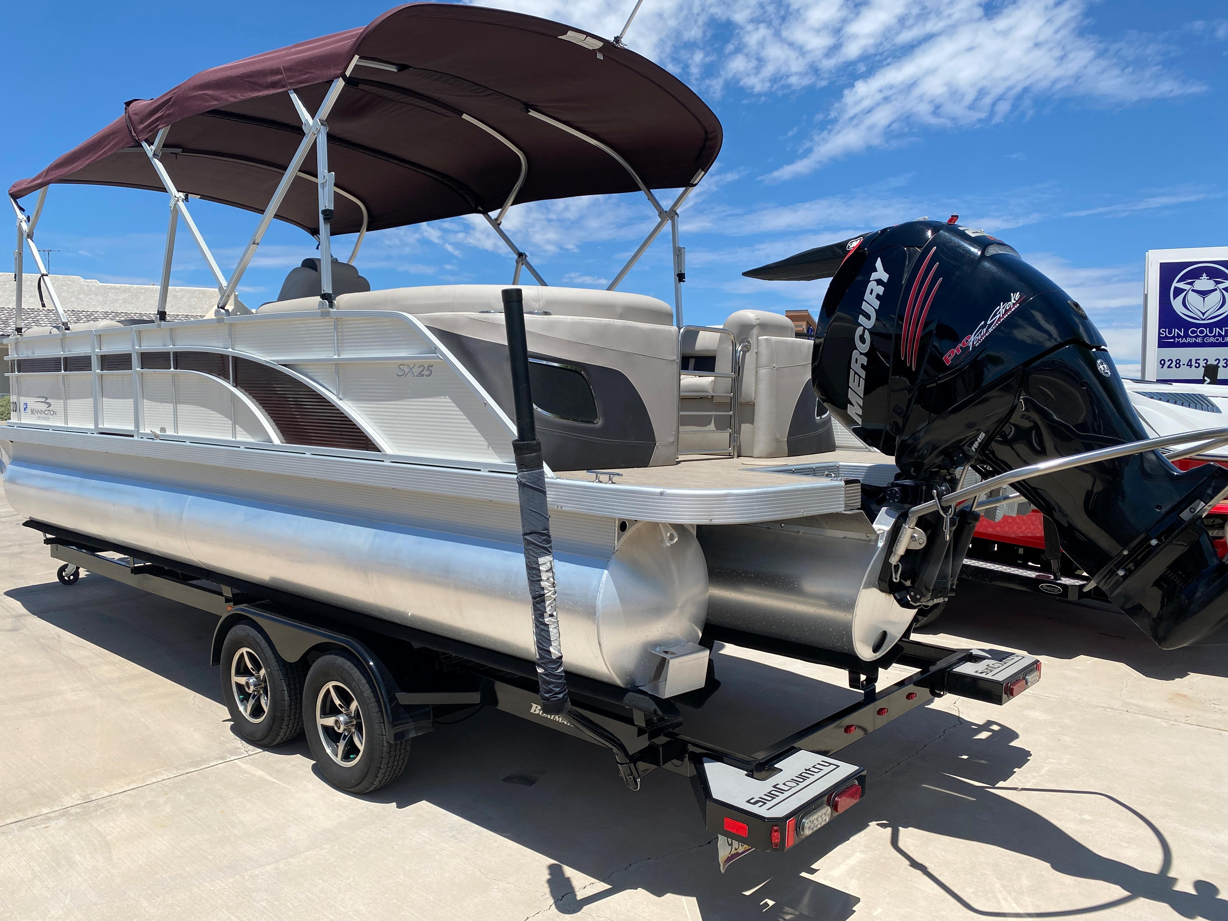 2018 Bennington 25 SX #TB3053JC inventory image at Sun Country Inland in Lake Havasu City