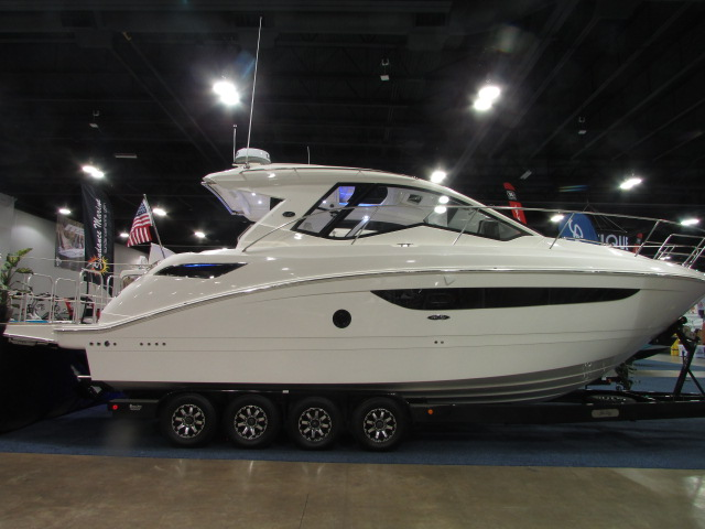 2020 Sea Ray boat for sale, model of the boat is 350 Coupe & Image # 1 of 29