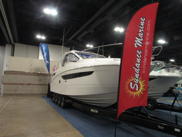2020 Sea Ray boat for sale, model of the boat is 350 Coupe & Image # 27 of 29