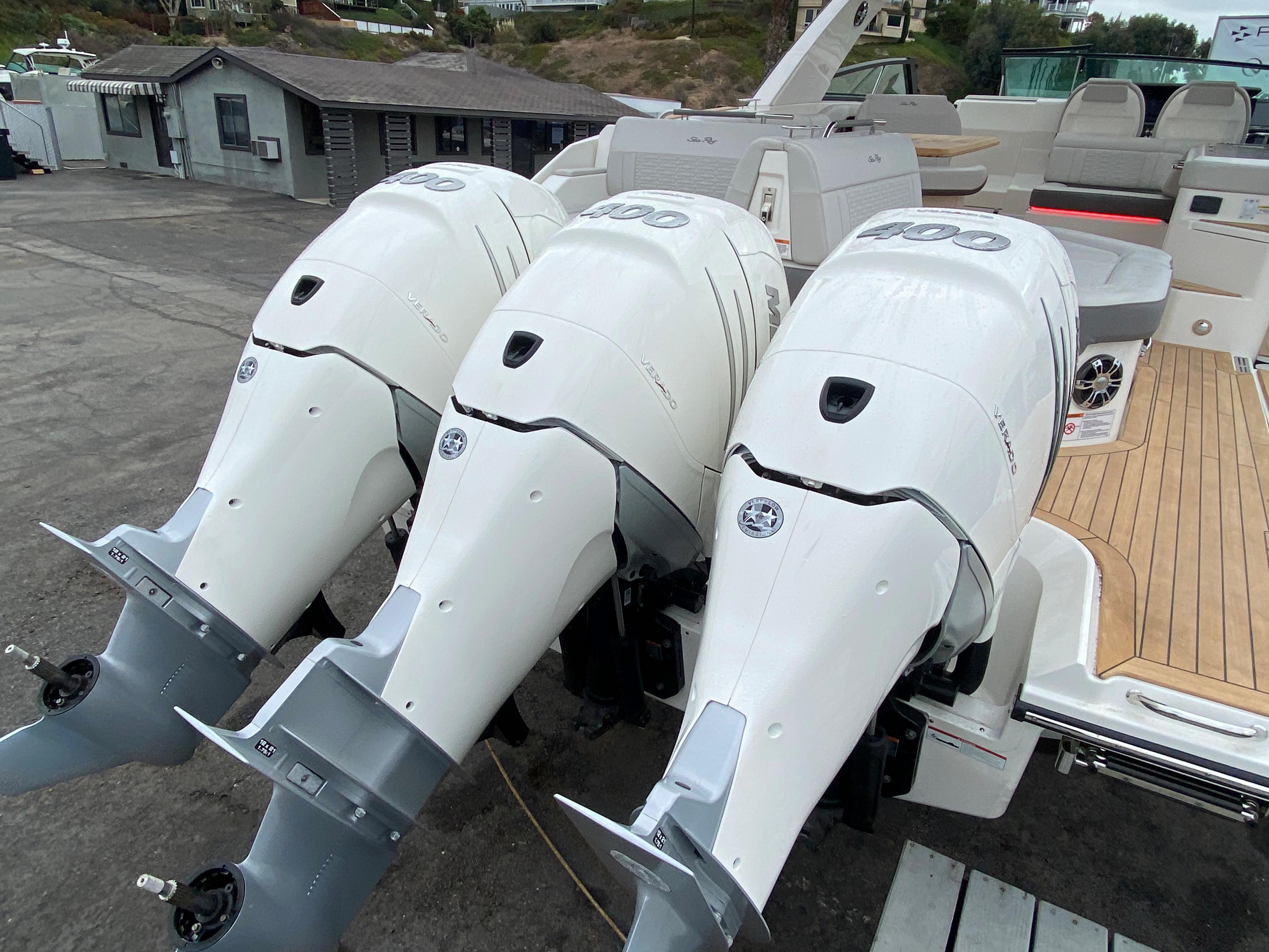 2021 Sea Ray SLX 400 OB #S1309H inventory image at Sun Country Coastal in Newport Beach
