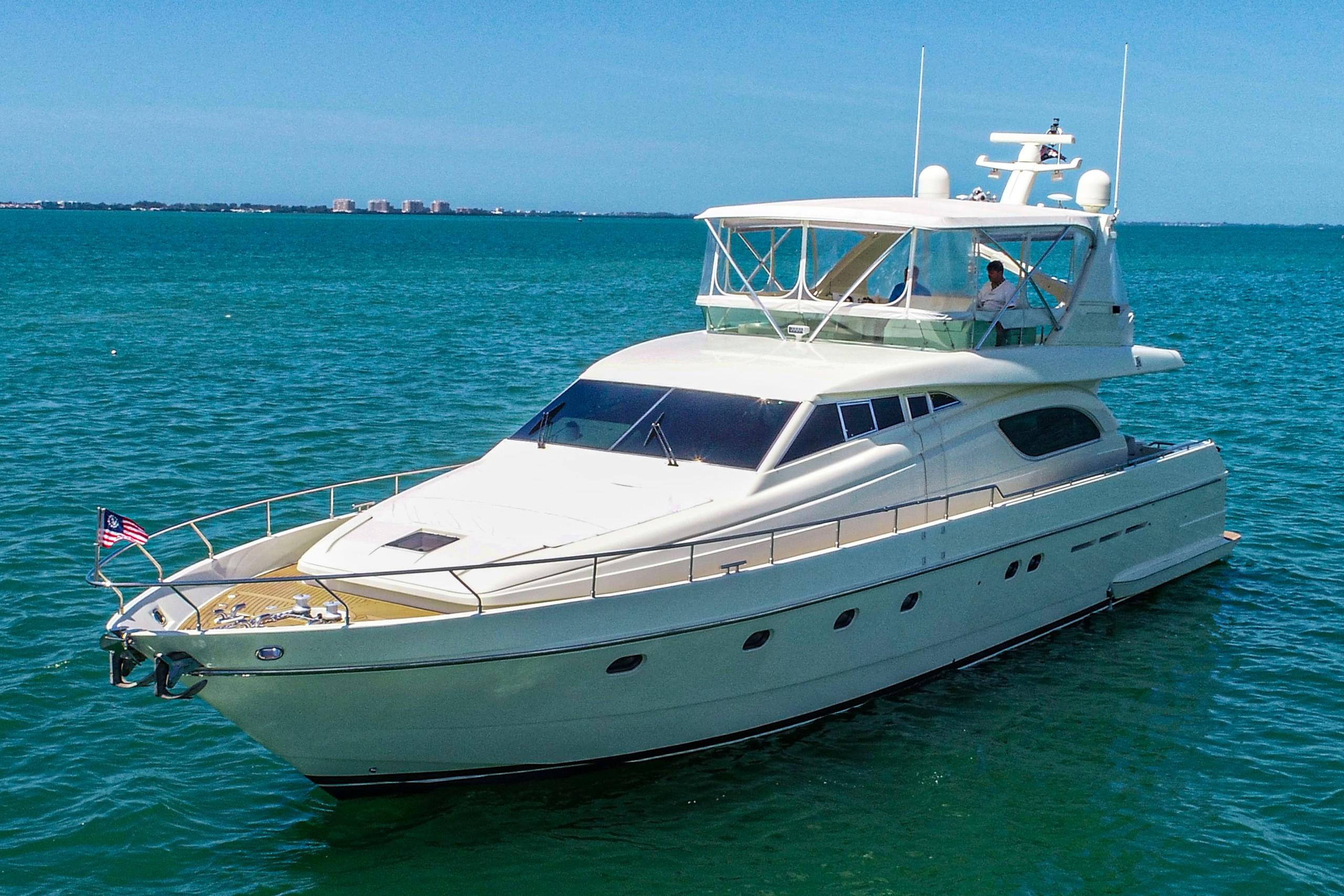Picture Of:  72' Ferretti Yachts 72 Flybridge 1998Yacht For Sale | 62
