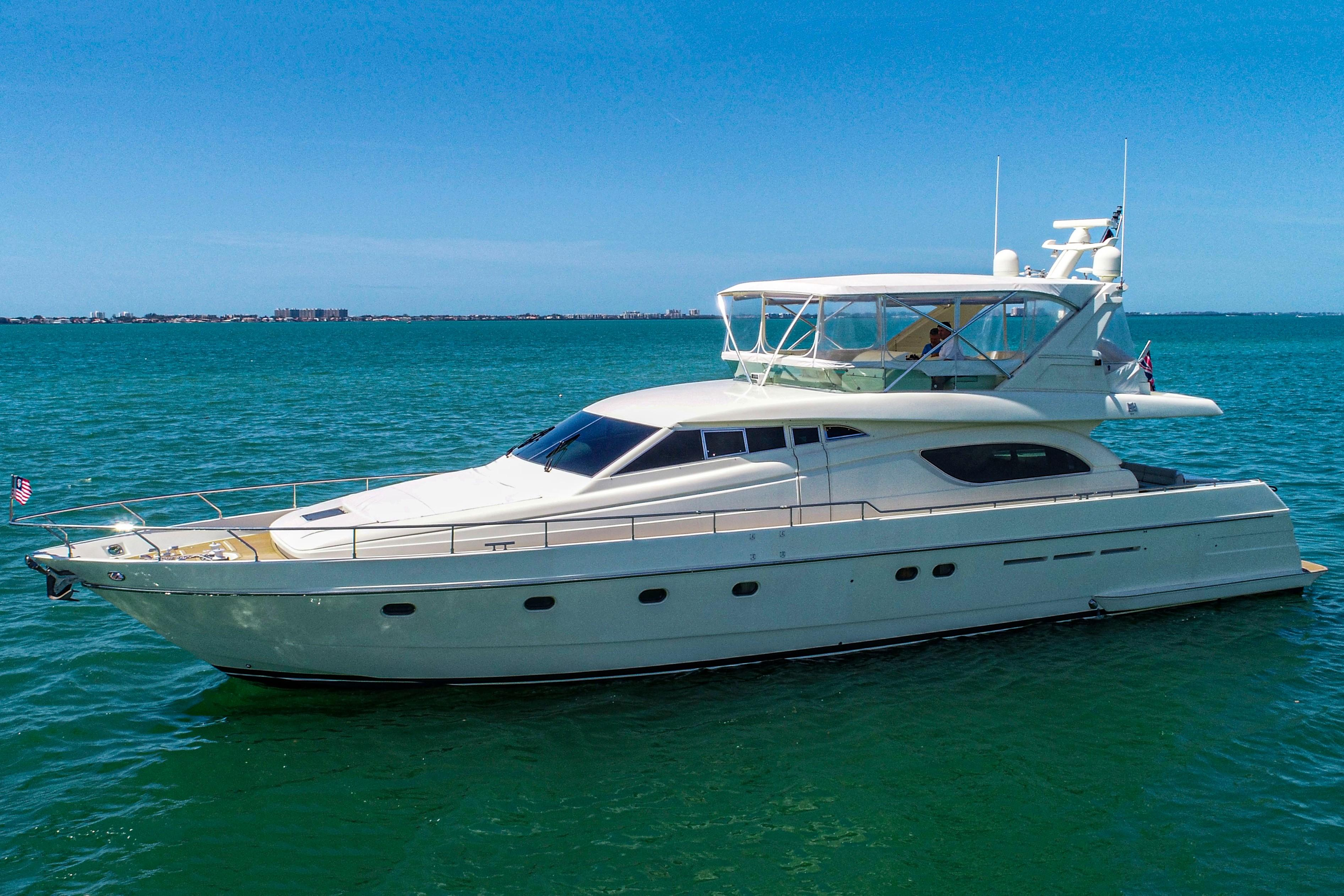 Picture Of:  72' Ferretti Yachts 72 Flybridge 1998Yacht For Sale | 3 of 62