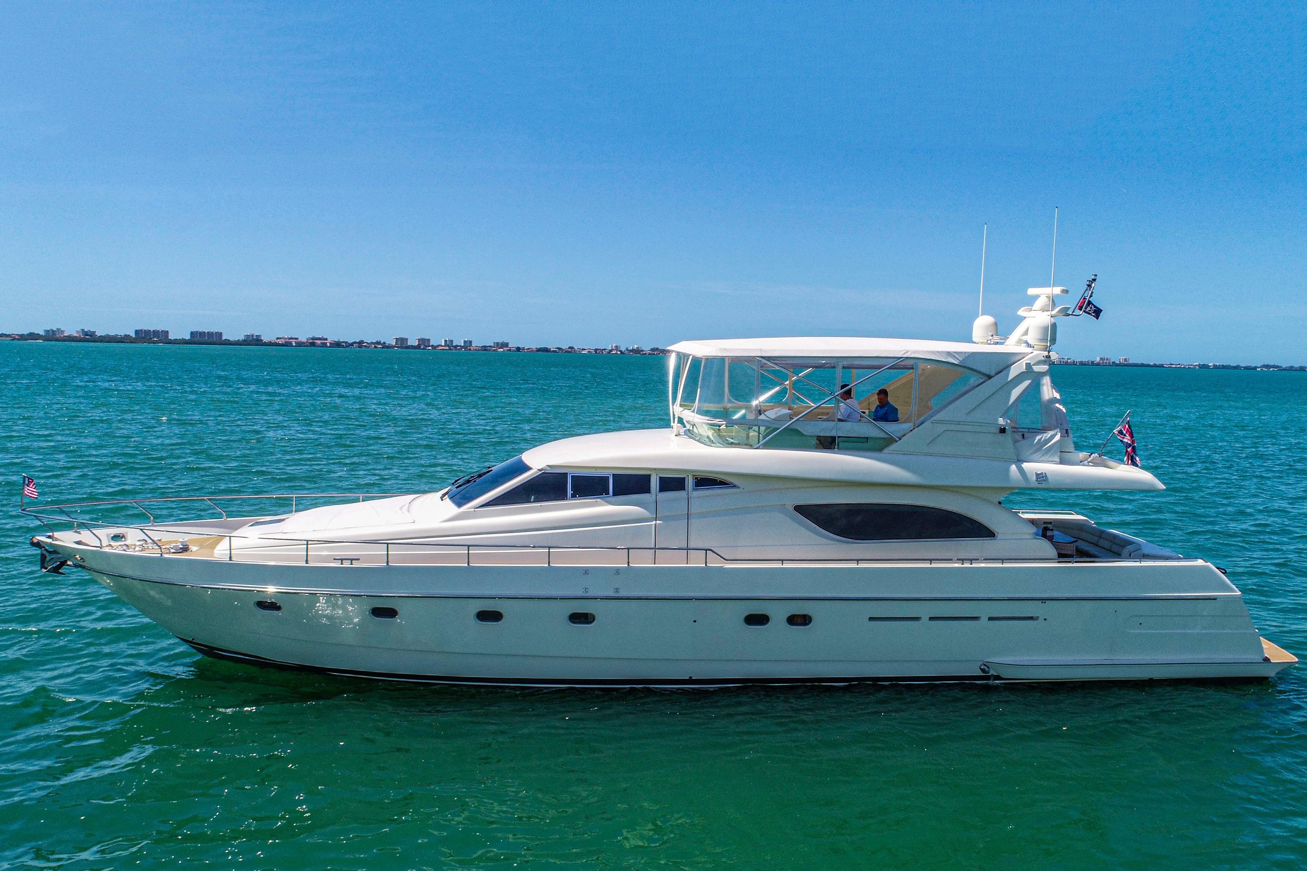Picture Of:  72' Ferretti Yachts 72 Flybridge 1998Yacht For Sale | 4 of 62