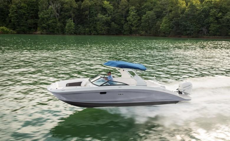 2021 Sea Ray SDX 270 OB #S1871A inventory image at Sun Country Coastal in Newport Beach