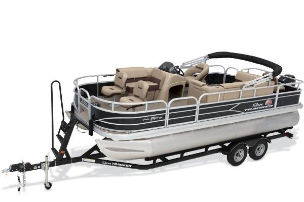 2018 SUN TRACKER FISHIN' BARGE 20 DLX for sale