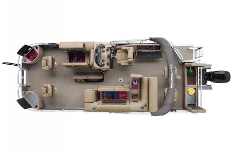 2020 Sun Tracker boat for sale, model of the boat is Signature Fishing Barge 22XP3 w/150L 4S & Image # 15 of 50