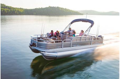 2020 Sun Tracker boat for sale, model of the boat is Signature Fishing Barge 22XP3 w/150L 4S & Image # 33 of 50