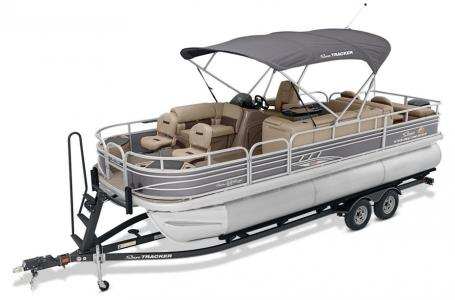 2020 Sun Tracker boat for sale, model of the boat is Signature Fishing Barge 22XP3 w/150L 4S & Image # 35 of 50