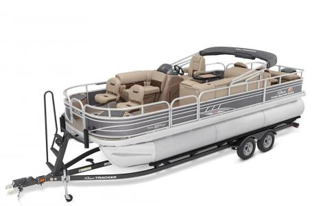 2020 Sun Tracker boat for sale, model of the boat is Signature Fishing Barge 22XP3 w/150L 4S & Image # 45 of 50