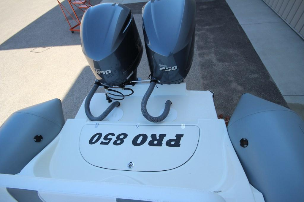 2022 Zodiac Custom Pro 850 Optimum Twin 250hp On Order, Image 14