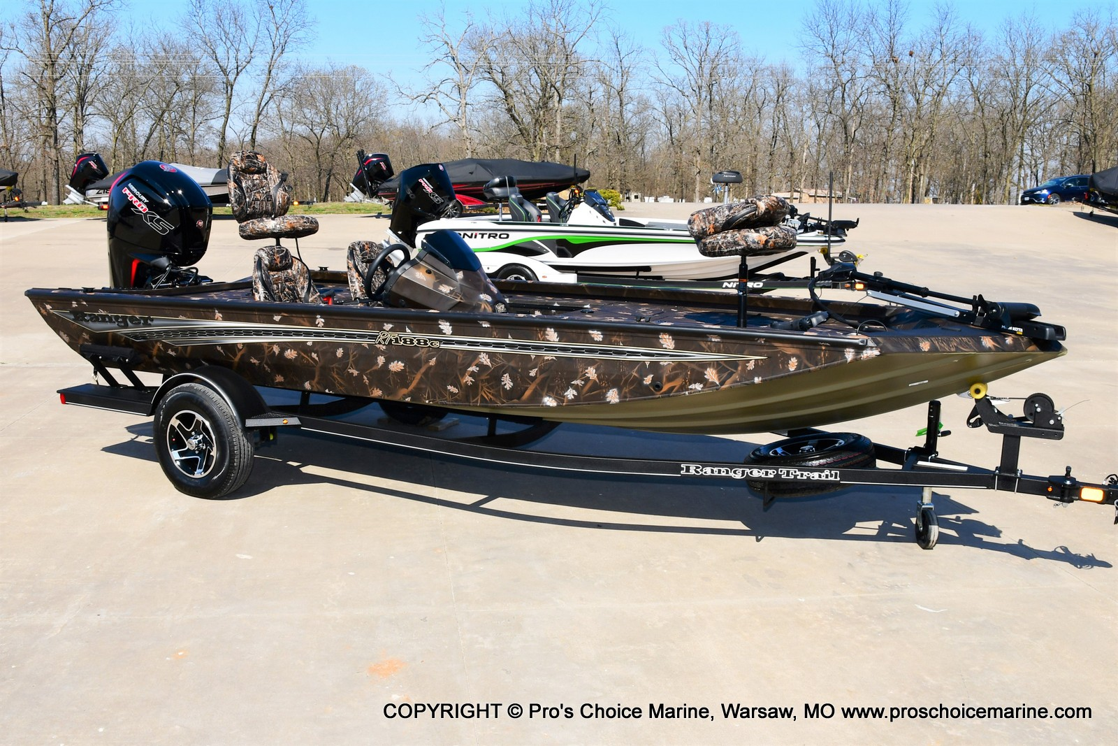 2021 Ranger Boats boat for sale, model of the boat is RT188C w/115HP Mercury Pro-XS Command Thrust & Image # 10 of 50