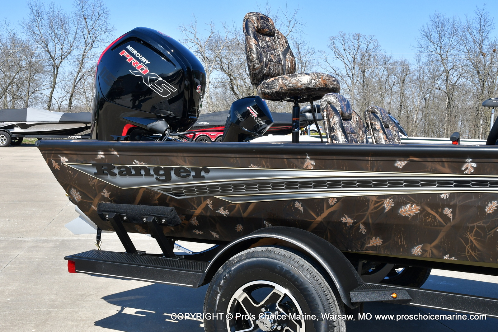 2021 Ranger Boats boat for sale, model of the boat is RT188C w/115HP Mercury Pro-XS Command Thrust & Image # 34 of 50