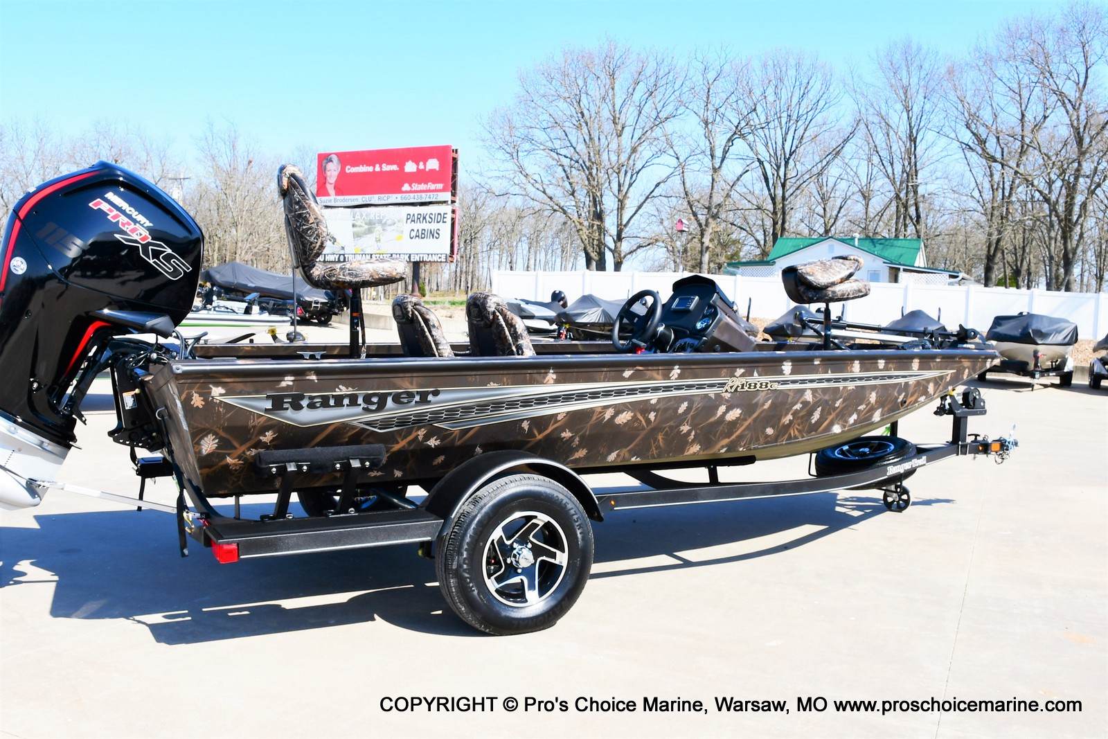 2021 Ranger Boats boat for sale, model of the boat is RT188C w/115HP Mercury Pro-XS Command Thrust & Image # 35 of 50