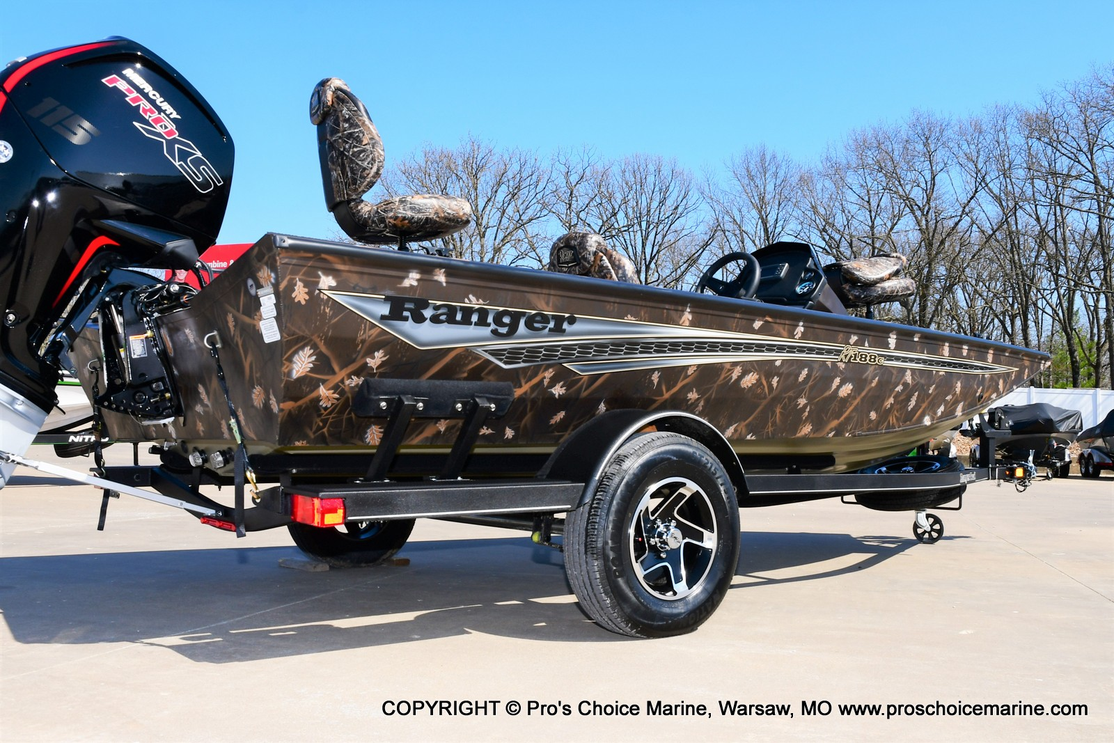 2021 Ranger Boats boat for sale, model of the boat is RT188C w/115HP Mercury Pro-XS Command Thrust & Image # 36 of 50