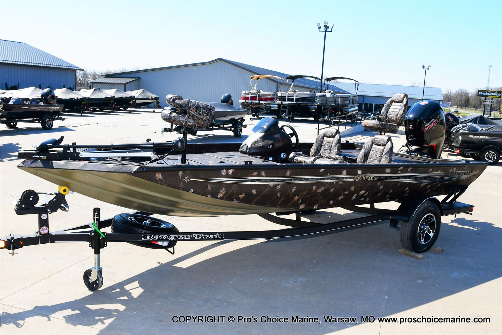 2021 Ranger Boats boat for sale, model of the boat is RT188C w/115HP Mercury Pro-XS Command Thrust & Image # 39 of 50