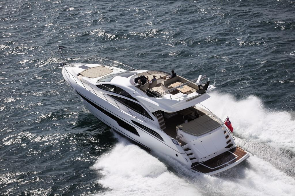 Manufacturer Provided Image: Sunseeker 68 Sport Yacht Stern