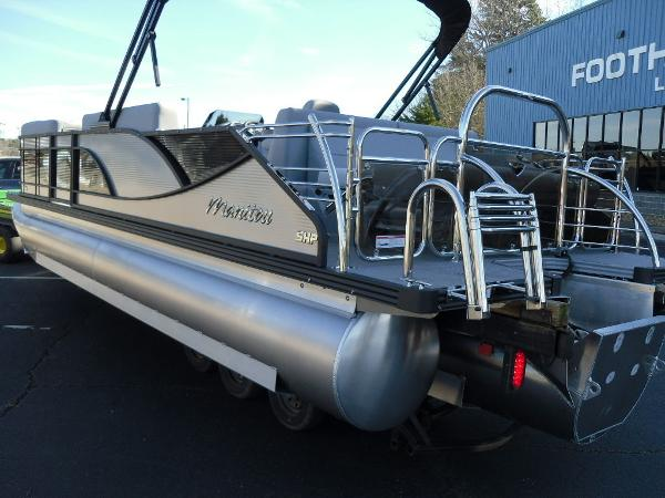 2021 Manitou boat for sale, model of the boat is Bench 23 SES SHP 575 & Image # 4 of 43