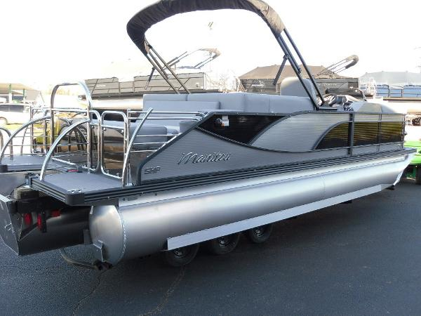 2021 Manitou boat for sale, model of the boat is Bench 23 SES SHP 575 & Image # 31 of 43