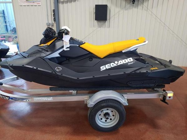 2021 Sea Doo PWC boat for sale, model of the boat is Spark® 2-up Rotax® 900 ACE™ - 90 IBR & CONV & Image # 1 of 1