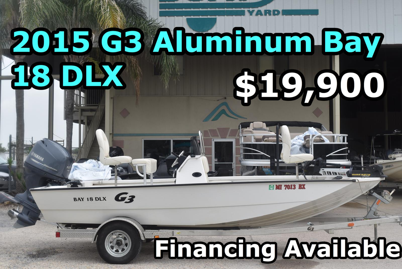 2015 G3 BOATS BAY 18 DLX for sale