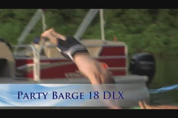 Sun Tracker Party Barge 18 DLX video