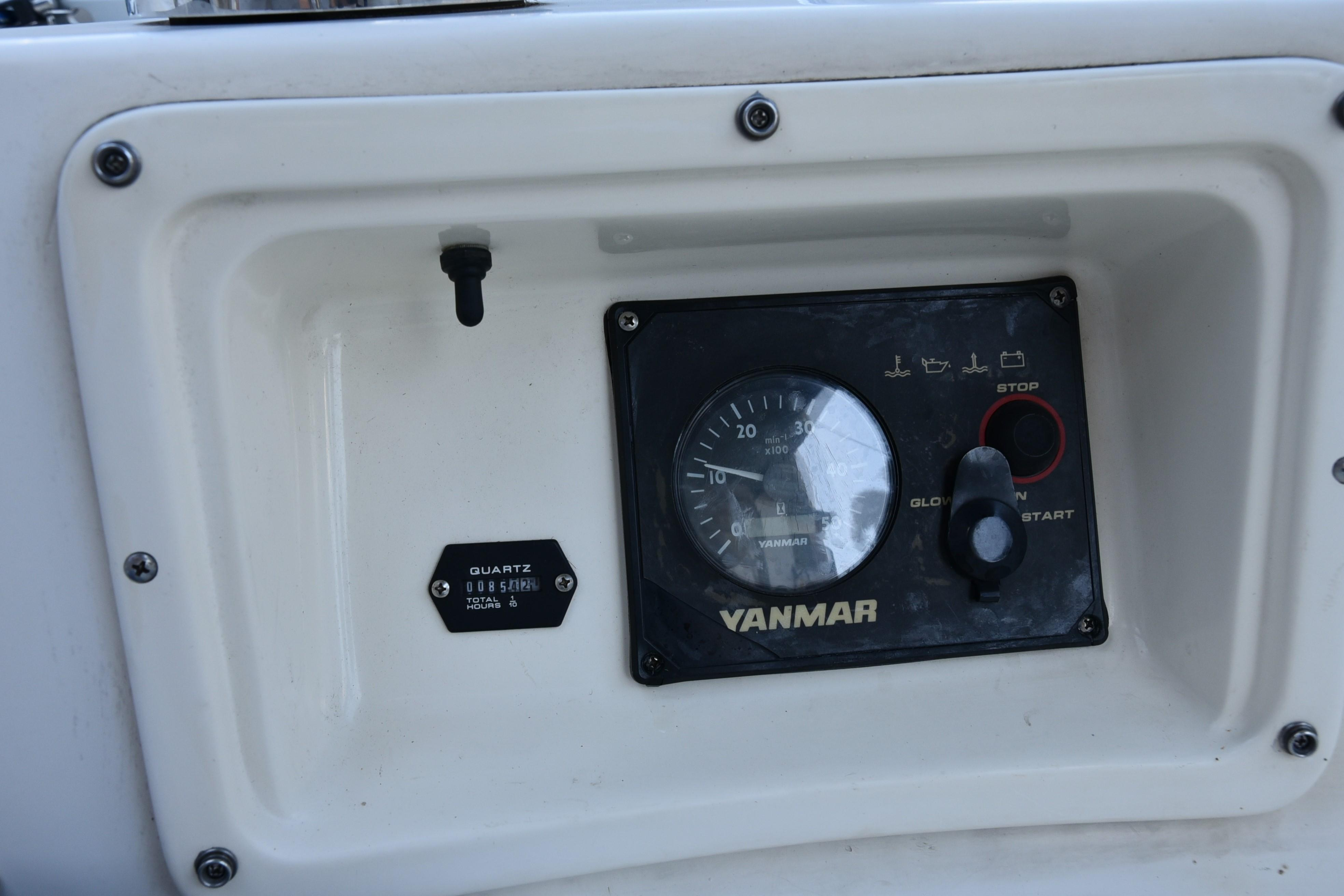 TACH AND HOUR METER