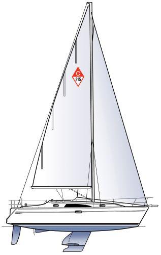 2021 CATALINA 315