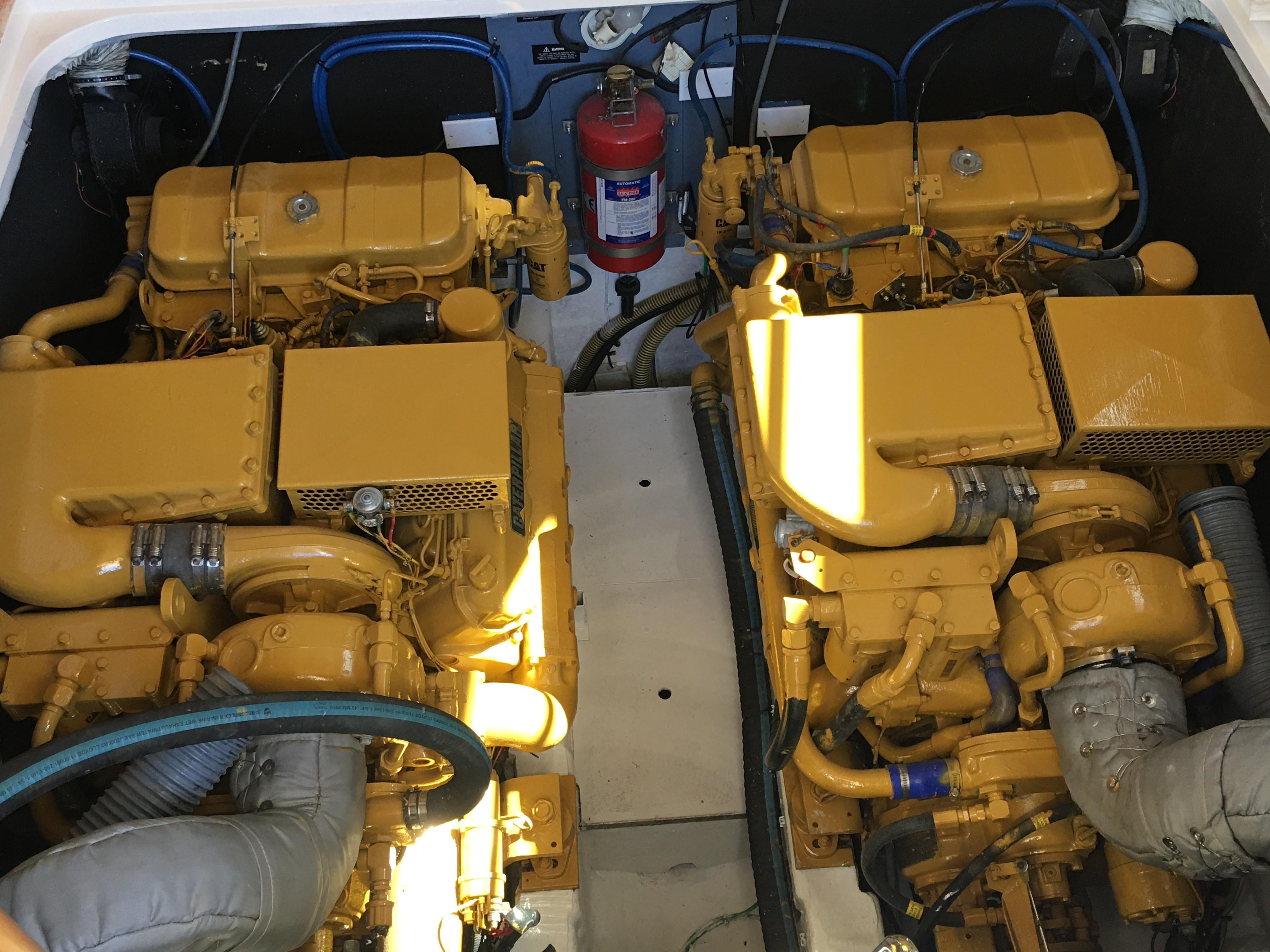 Viking Princess V50 - Engine Room