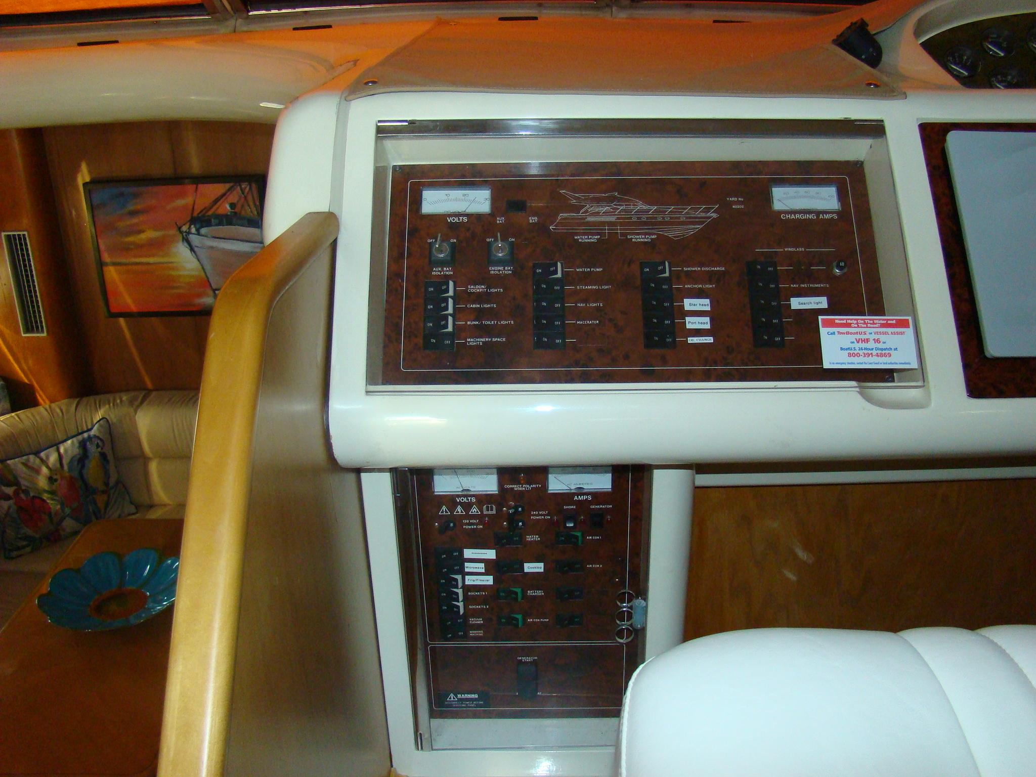 Viking Princess V50 - Breaker Panel