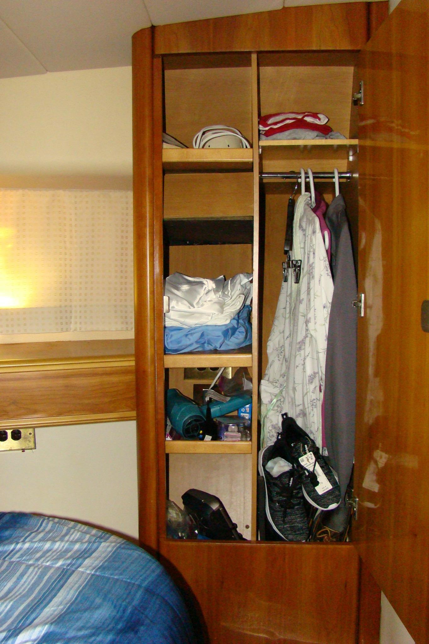 Viking Princess V50 - Master Stateroom Closet