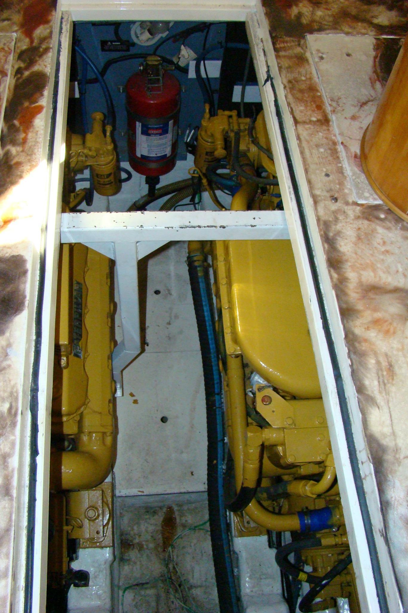 Viking Princess V50 - Engine Room Hatch Openings 2