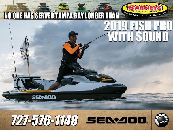 2019 SEA-DOO FISHPRO IBR SOUND