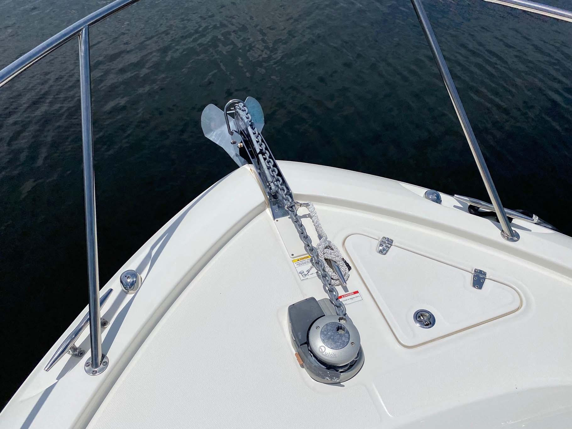 Bow Anchor and Windlass
