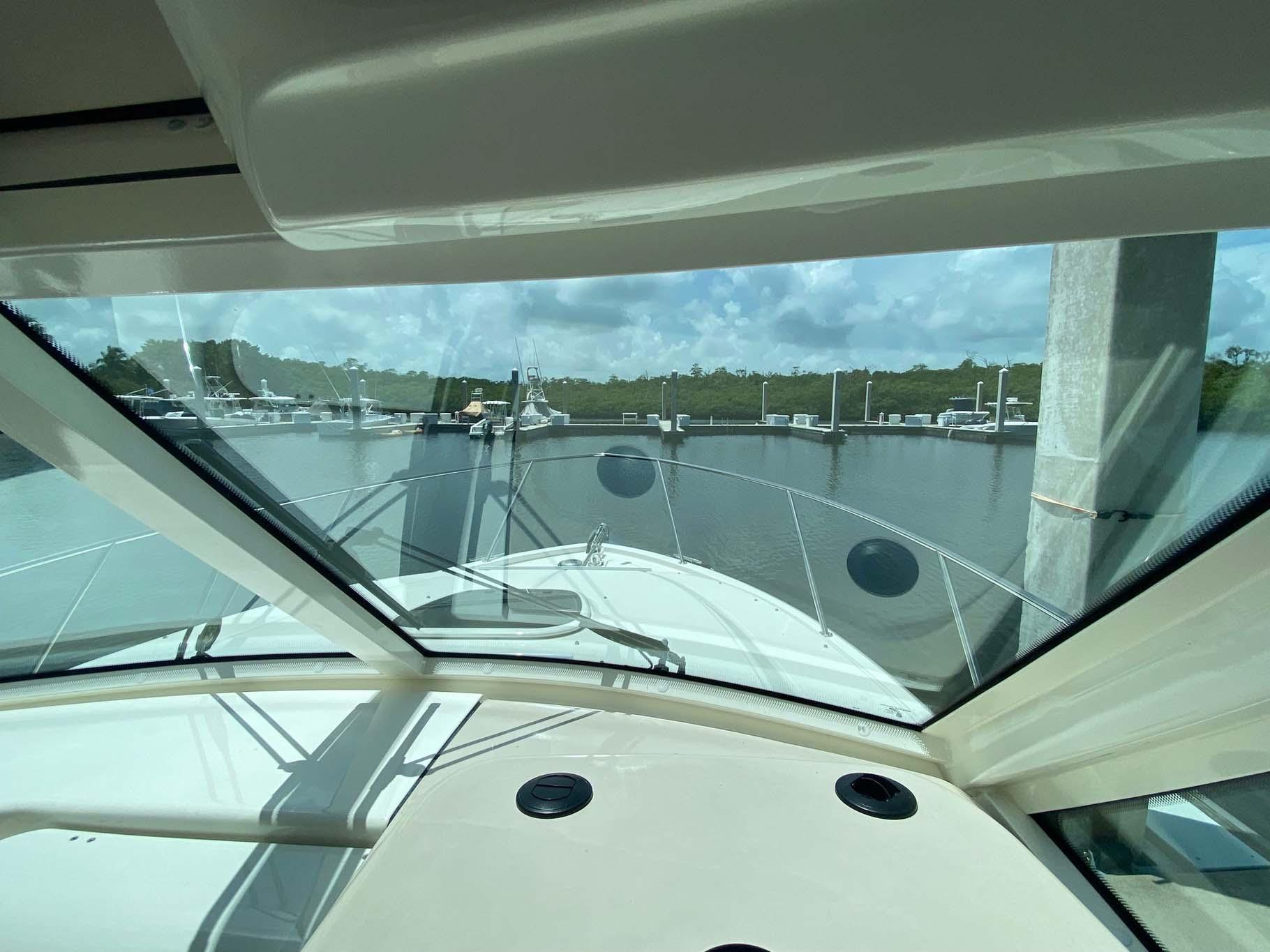 Bow View from Helm