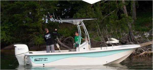 2021 Carolina Skiff boat for sale, model of the boat is 19 LS & Image # 6 of 6