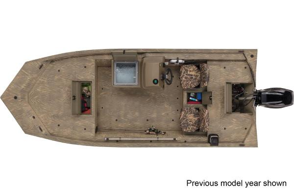 2022 Tracker Boats boat for sale, model of the boat is Grizzly 1754 SC & Image # 2 of 3