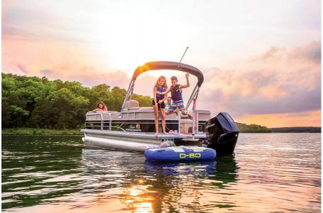 2019 Sun Tracker boat for sale, model of the boat is PARTY BARGE 24 XP3 w/ Mercury 150Hp 4S & Image # 17 of 24