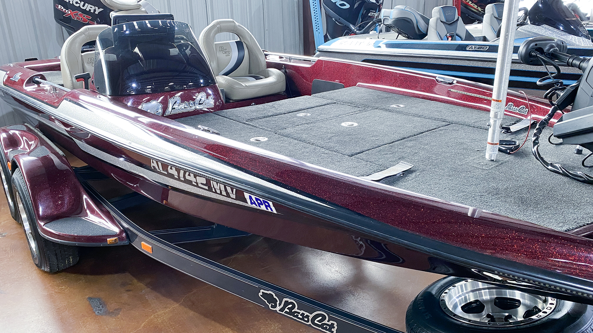 2015 Bass Cat Boats Sabre FTD Advantage Elite thumbnail