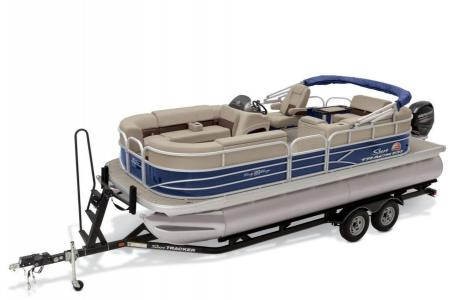 2019 Sun Tracker boat for sale, model of the boat is PARTY BARGE 22 w/ Mercury 115Hp 4S & Image # 17 of 22