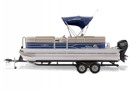 2019 Sun Tracker boat for sale, model of the boat is PARTY BARGE 22 w/ Mercury 115Hp 4S & Image # 18 of 22