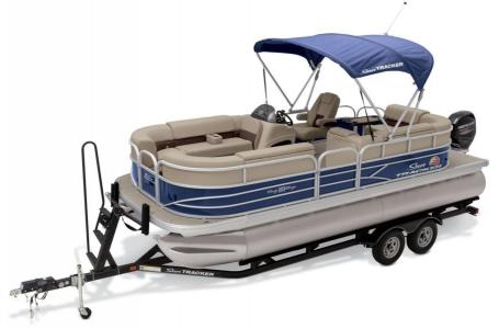 2019 Sun Tracker boat for sale, model of the boat is PARTY BARGE 22 w/ Mercury 115Hp 4S & Image # 7 of 22