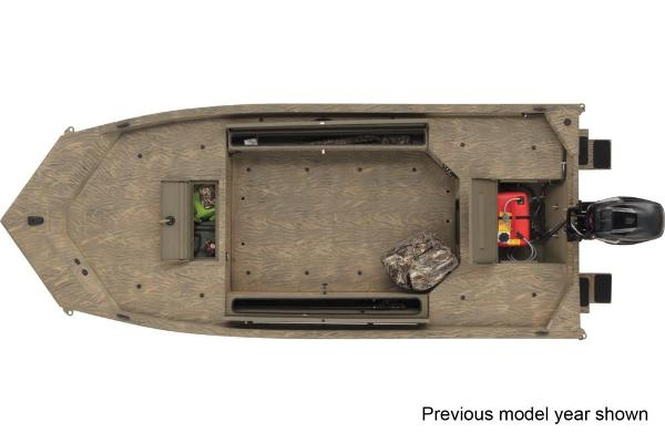 2022 Tracker Boats boat for sale, model of the boat is Grizzly 1654 T Sportsman & Image # 2 of 3