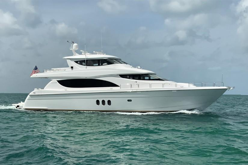 2008 Hatteras 80 Motor Yacht - Our Trade