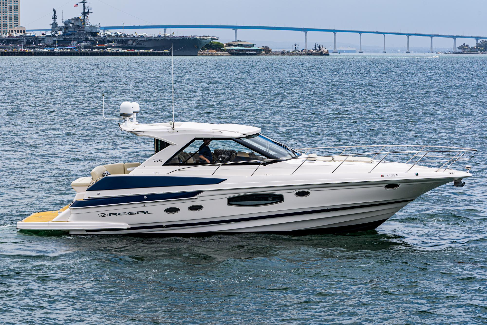 2015 Regal 46 Sport Coupe #TB080RM inventory image at Sun Country Coastal in San Diego
