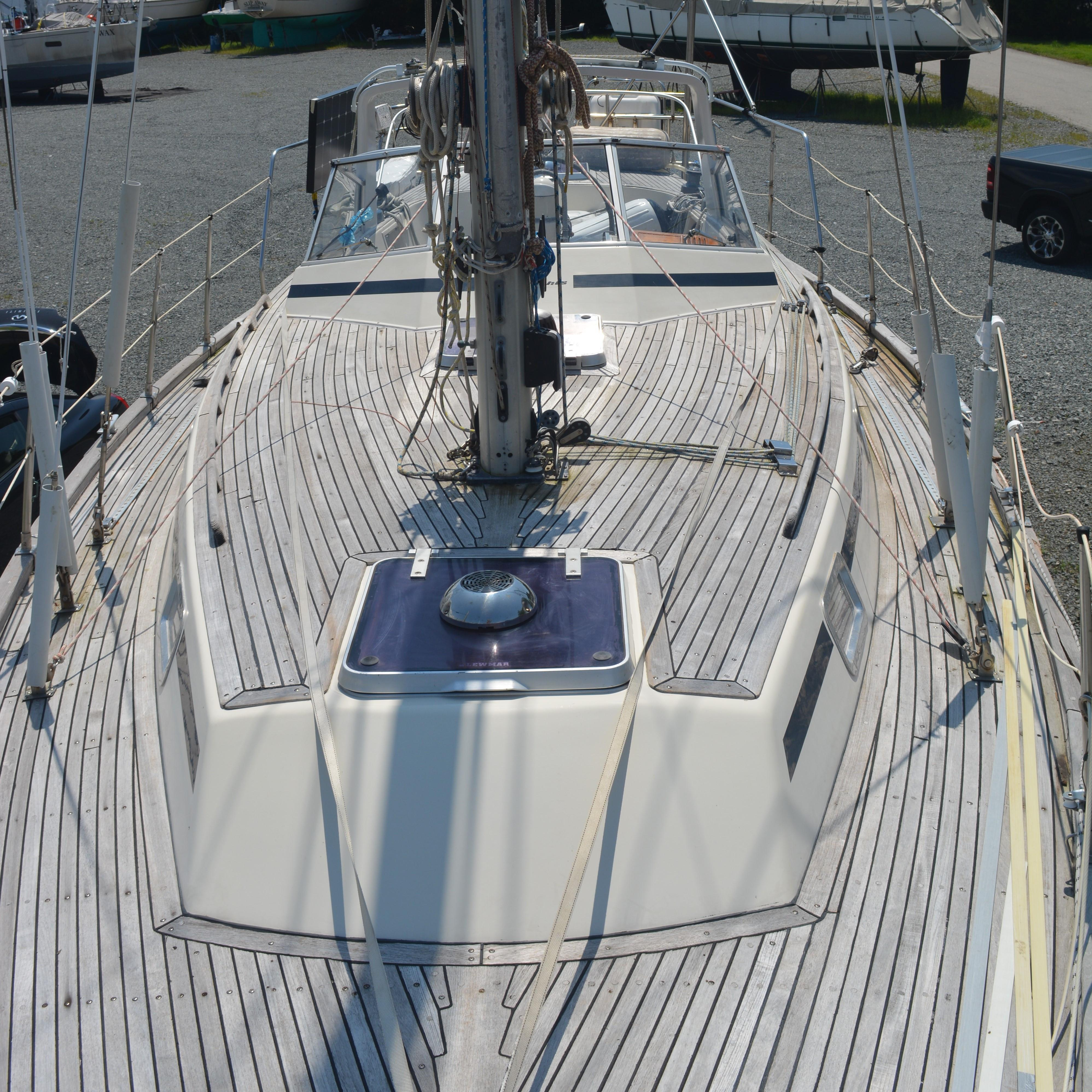 From bow looking aft